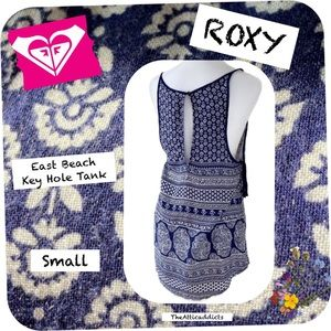 Roxy Tank Top Boho Navy size S